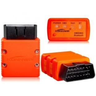 KONNWEI KW902 BT / WIFI OBD-II сканер Детектор автоматический диагностический инструмент (оранжевый)
