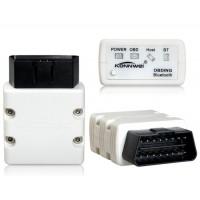 KONNWEI KW902 BT / WIFI OBD-II сканер Детектор автоматический диагностический инструмент (белый)