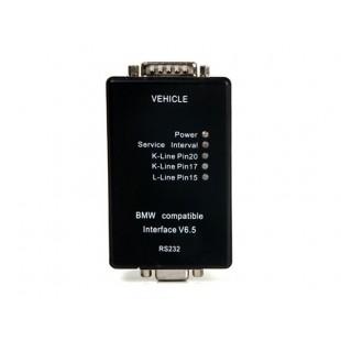 V6.5 Интерфейс Диагностический кабель для BMW Автомобили (черный)