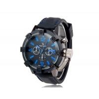 V0045 Мужские спортивные наручные часы с металлическим корпусом (черные и синие)