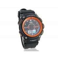 SKMEI 50 м водонепроницаемые часы (оранжевый)