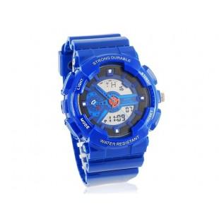 SKMEI 0929 стильные светодиодные Дайвинг часы (синие)