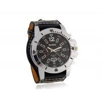 WoMaGe 9332 Стильные аналоговые часы  (черные)