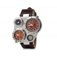 спортивные часы с  компасом, термометром (коричневые)
