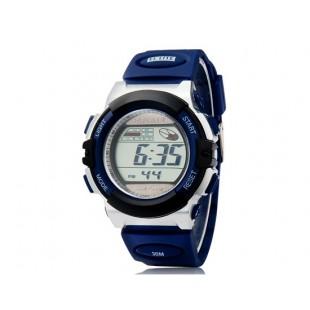 RE901 водонепроницаемые Дайвинг Солнечные спортивные часы (синие)