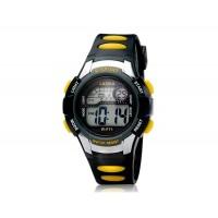 F71 Unisex спортивные наручные часы с подсветкой (черные)