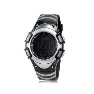 FOXGUIDER FX704S-B Часы Многофункциональные цифровые барометр Рыбалка (черные и белые)