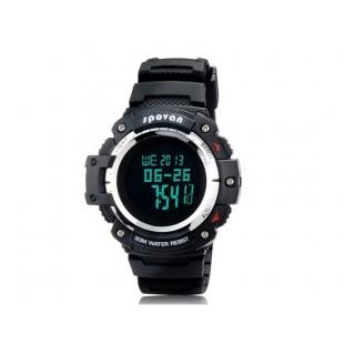 Spovan Blade II-B Многофункциональные  спортивные часы (черные и белые)