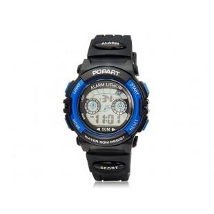 POPART 310 30m водонепроницаемые спортивные часы (синие)