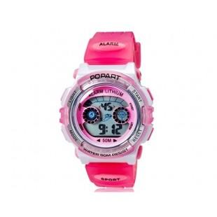 POPART 310 30m водонепроницаемые спортивные часы (розовый)