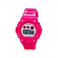 ALIKE AK1385 мужские водонепроницаемые цифровые часы (Rose Red)