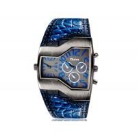 OULM 1220 мужские механический часы (синие)