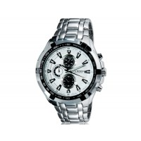 CURREN 8023 водонепроницаемые спортивные часы с браслетом из вольфрама (белые)