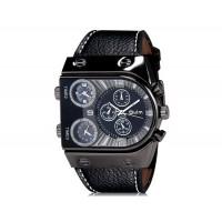 OULM 9315 спортивные часы с тремя часовыми зонами