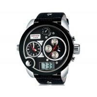 WEIDE 2305 наручные часы с Multiple Time Zone (черные)