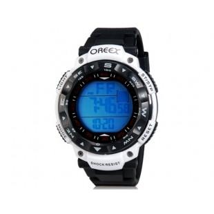 OREEX 2041 30 м Водонепроницаемые спортивные часы & Alarm Clock (белые)