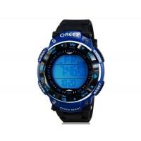OREEX 2041 водонепроницаемые для активных видов спорта  и будильник (синие)
