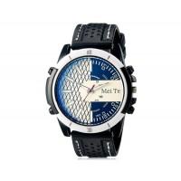MEITE 1801  часы с кварцевым механизмом и каучуковый ремешок (белые)