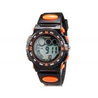 Lasika W-F83 Unisex 30M Водонепроницаемые Спортивные часы с календарем (оранжевый)