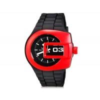V6 0222 Super Speed спортивные аналоговые наручные часы (красные)