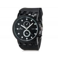 V6 0187 спортивные часы  (черные)