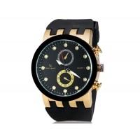 V6 0187 Super Speed спортивные аналоговые наручные часы (Золотой)