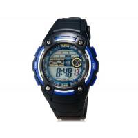 iTaiTek IT-819 водонепроницаемые спортивные электронные наручные часы с датой и будильником (черные + синие)
