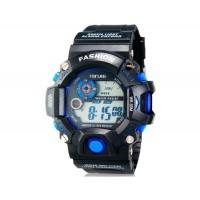XINJIE XJ-929 унисекс водонепроницаемые цифровые спортивные часы(черные)