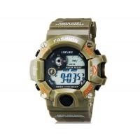 XINJIE XJ-929 унисекс водонепроницаемые цифровые спортивные часы(Army Green)