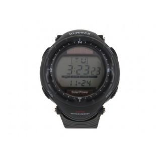 Power 0405M наручные часы на солнечной батарее (черные)