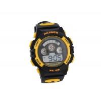 PASNEW 279  водонепроницаемые ЖК спортивные часы (желтые)