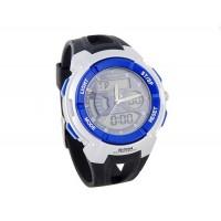 ANIKE Водонепроницаемые цифровые часы  секундомер (синие)