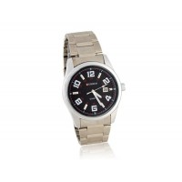Купить CURREN часы с браслетом из нержавеющей стали, Календарь (черный)
