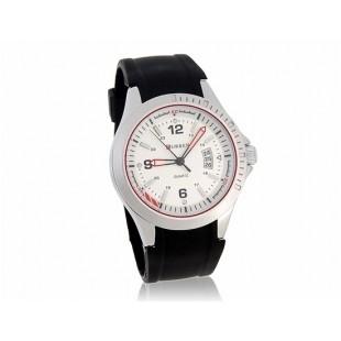 CURREN Стильные аналоговые часы с датой  (черный)
