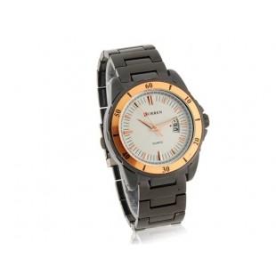 CURREN 8108 Мужские часы  с датой (белый)