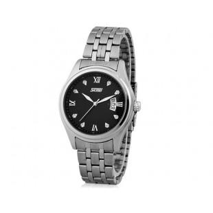 SKMEI30m водонепроницаемые часы с датой (черный)