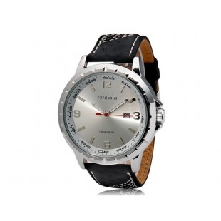 CURREN 8120 наручные часыс календарем   (белый)