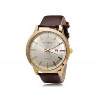 Купить CURREN 8114 стильные мужские часы (коричневый)
