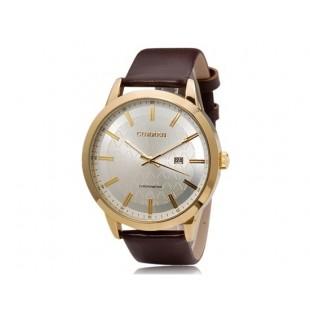 CURREN 8114 стильные мужские часы (коричневый)