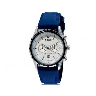 VaLia 8186 Мужские Аналоговые часы с календарем (синий)