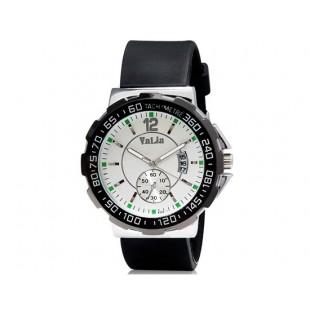 VaLia 8202 Мужские Аналоговые часы с календарем (черный)