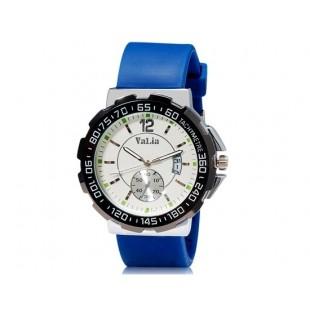 VaLia 8202 Мужские Аналоговые часы с календарем (синий)