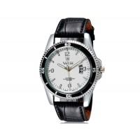 Купить VaLia 8214 Стильные  аналоговые часы с календарем  (белый)