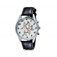 Купить VaLia 8197 Мужские Аналоговые часы с календарем (черный)
