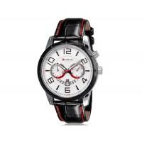 Купить CURREN 8140 аналоговые часы с календарем  (белый)