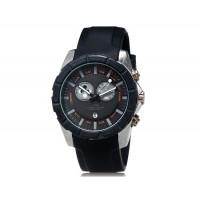 Купить       SHORS 80079 кварцевые часы с календарем и силиконовый ремешок (черный)