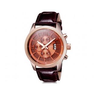CURREN 8137 мужские кварцевые часы с календарем (коричневый)
