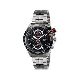 Curren 8148  часы с датой  (черный)