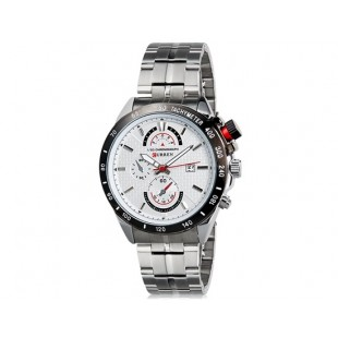 Curren 8148  часы с датой  (белый)