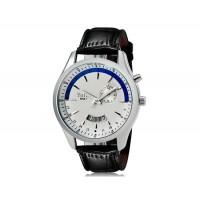 Купить VaLia  8252 Модные мужские Аналоговые часы с датой (белый)